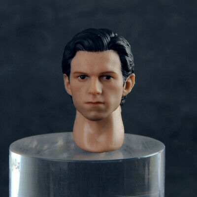 1//12 Scale Spider-Man Tom Holland Male Head Sculpt Fit For 6/'/' Action Figure Toy