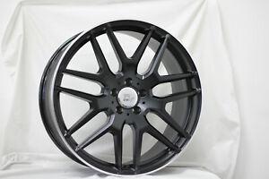 1x-21-inch-x-10-ERIS-BLK-Wheel-MERCEDES-ML-GL-GLE-COUPE-GLS-AMG-COMPAT-ITALY