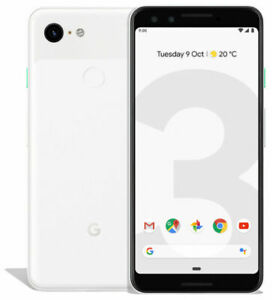 Google Pixel 3 - 128GB Clearly White (Factory Unlocked) AT&T - T-Mobile Verizon