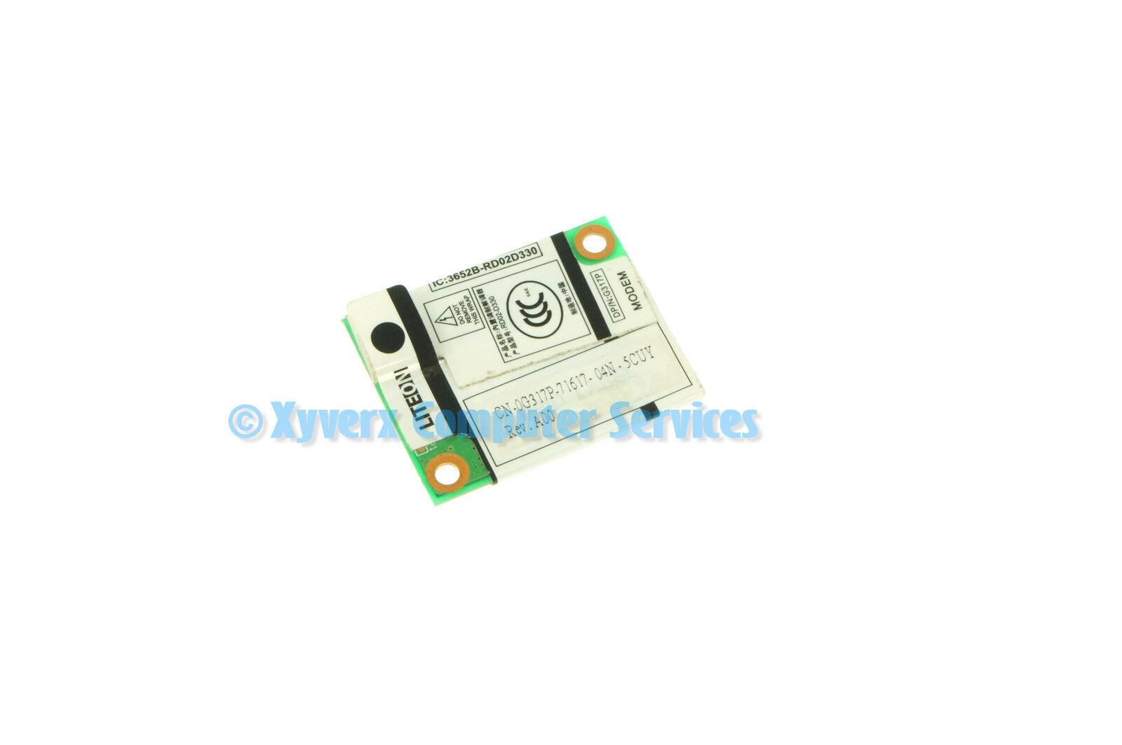 New Genuine DELL E6400 LITEON MODEM BOARD 0G317P