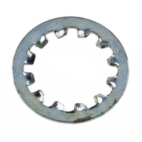 galvanisé forme I = intérieur dentelé Zahnscheiben anciennement DIN 6797 ressort Acier galv