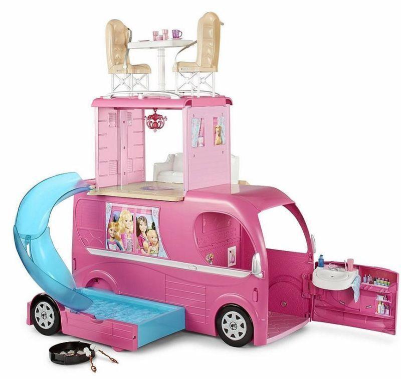 Barbie  POP Up CAMPER.  i più alti mai, 3 livelli, risistemato. nella casella Nuovo di zecca   tutto in alta qualità e prezzo basso
