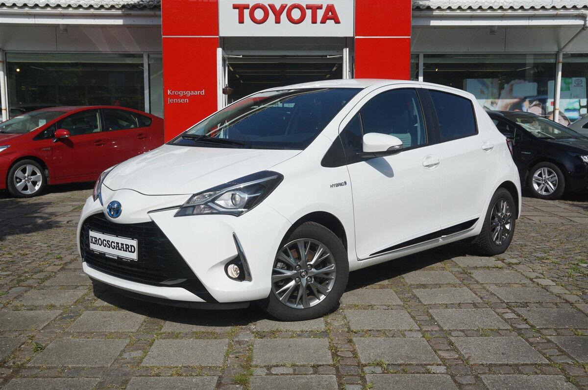 Toyota Yaris 1,5 Hybrid H2 Premium e-CVT 5d - 144.900 kr.