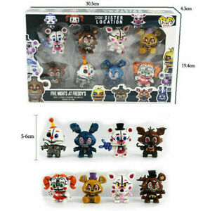 Five Nights At Freddy''s Action Figure FNAF Foxy Bonnie Sister Location Toy Gift