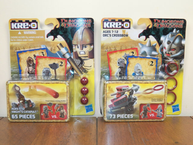 Kre-o Dungeons /& Dragons Orc/'s Crossbow Weapons Pack