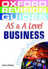 AS and A Level Business Studies Through Diagrams by Andrew Gillespie (Paperback, 2005)