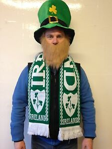 St-Patricks-Day-Ireland-Scarf-Green-Shamrock-Rugby-Football-Fancy-Party