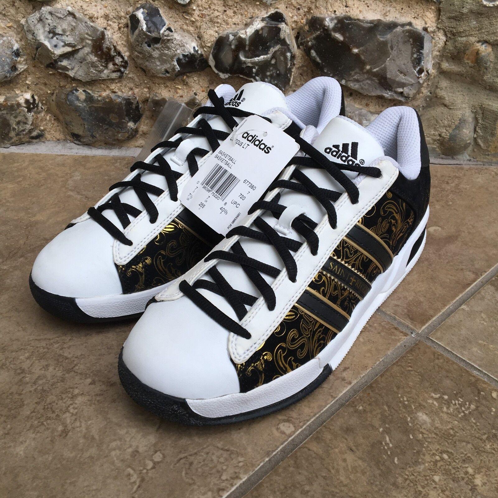 Scarpe da ginnastica ADIDAS misura 7 Regno Unito Bianco & & & Nero Campus LT Basket Scarpe Saint Reggie 5e8cf9