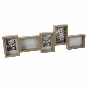 Wall-Photo-Box-Frame-Collective-Walnut-Effect-with-Five-Frames-by-Impressions