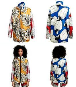 Details about Adidas X The Farm Windbreaker Jacket Women's Medium Multicolor DH3050