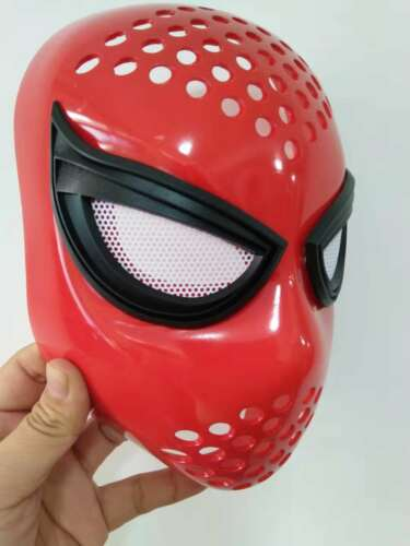 New Homecoming Civil War Amazing Spiderman Faceshell With Lenses Props costume