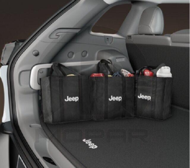NEW 2015 JEEP RENEGADE REUSABLE SHOPPING BAGS 82213900 OEM MOPAR