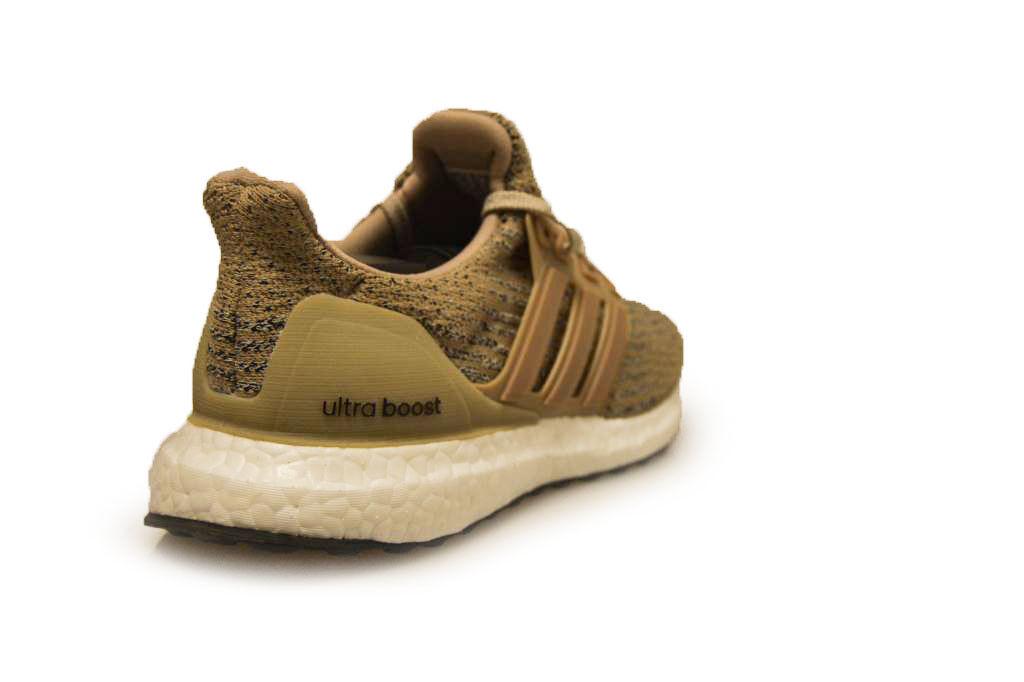 Mens Adidas Ultra - BOOST - CG3039 - Ultra Khaki Trainers 272457