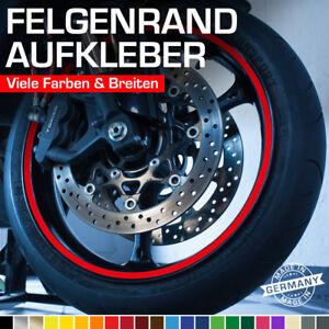 Felgenrandaufkleber Felgenaufkleber Auto Motorrad Wohnmobil Wohnwagen Grün Rot