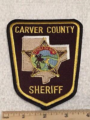 "MN Minnesota St Louis County Sheriff Police SHIRT 4.5/"" tall patch"
