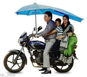 Motor Bike Umbrella Windproof Waterproof Uvproof For All 2