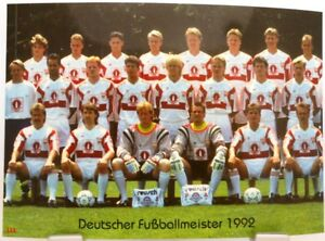 VfB Stuttgart Deutscher Fußball Meister 1992 Fan Big Card Edition F53 - Bremen, Deutschland - VfB Stuttgart Deutscher Fußball Meister 1992 Fan Big Card Edition F53 - Bremen, Deutschland