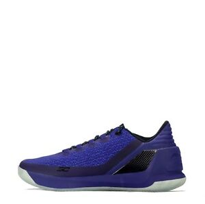 Under-Armour-Curry-3-Low-Homme-Chaussures-de-Basketball-Bleu-black