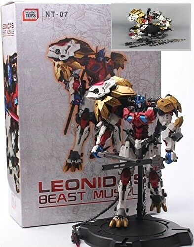 NEW NEOART TOYS NT-07 Beast Muscle MC White ORIGIN LEONIDAS PE Toy Action Figure