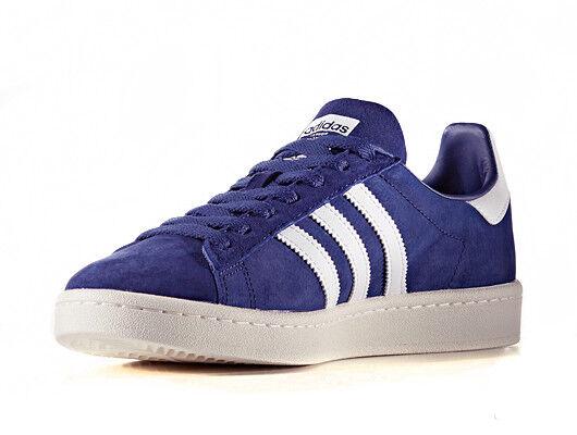 NUOVO Originale Adidas Campus bz0086 Uomo Sneakers Scarpe da Ginnastica Sport Uomo Blu Scarpe classiche da uomo
