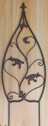 Rankgitter Rankhilfe 35x103 Metall braun Beetstecker Gartendeko Landhaus 35514