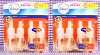 4 Tide Febreze Noticeables Original Scent Linen Blossom Scented Oil Refills
