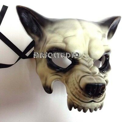Halloween Masquerade Wolf Mask Steampunk Animal Prop Cosplay Dress up party