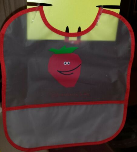 NEW Baby Wipe Clean plastic Bib for babies and toddlers