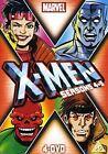 X-men Season 4 & 5 - 4dvd Marvel Very Good DVD