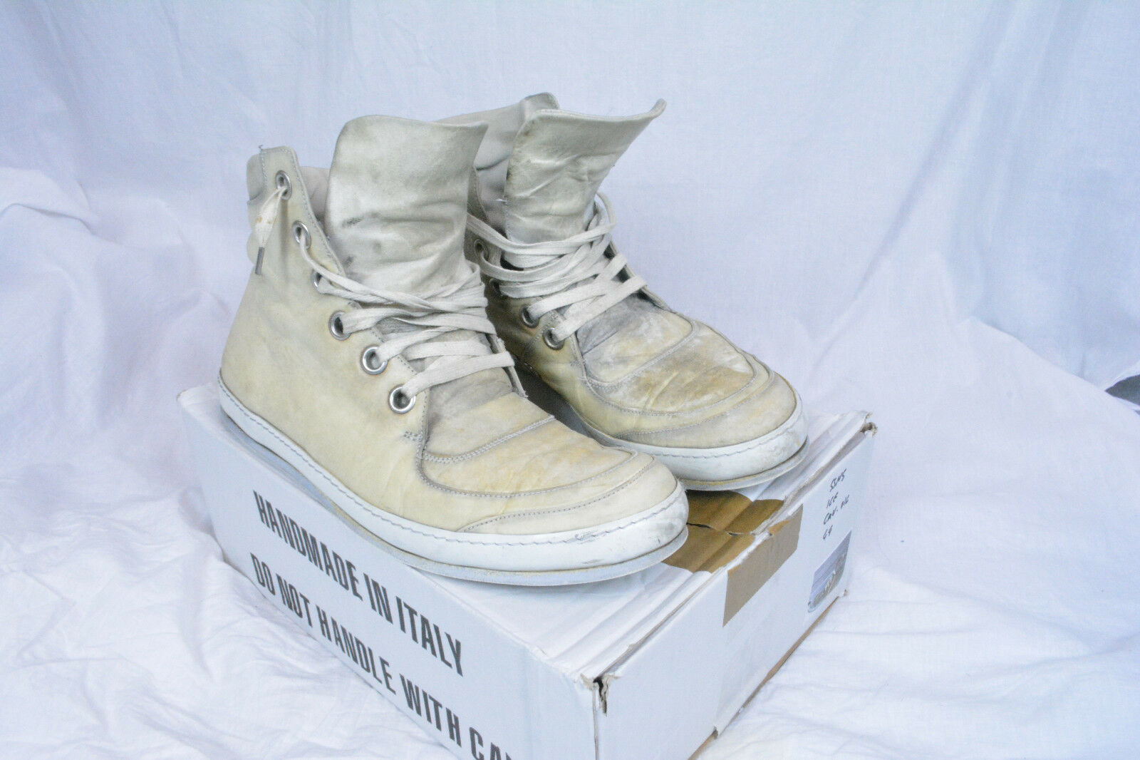 A1923 A Diciannoveventitre Augusta Sneakers Shoes Horse Leather 43 44 10 11