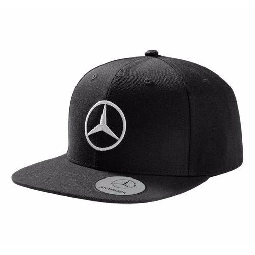 Original Mercedes cap flatbrim basecap negro hombre estrella 3d Stick b66953170