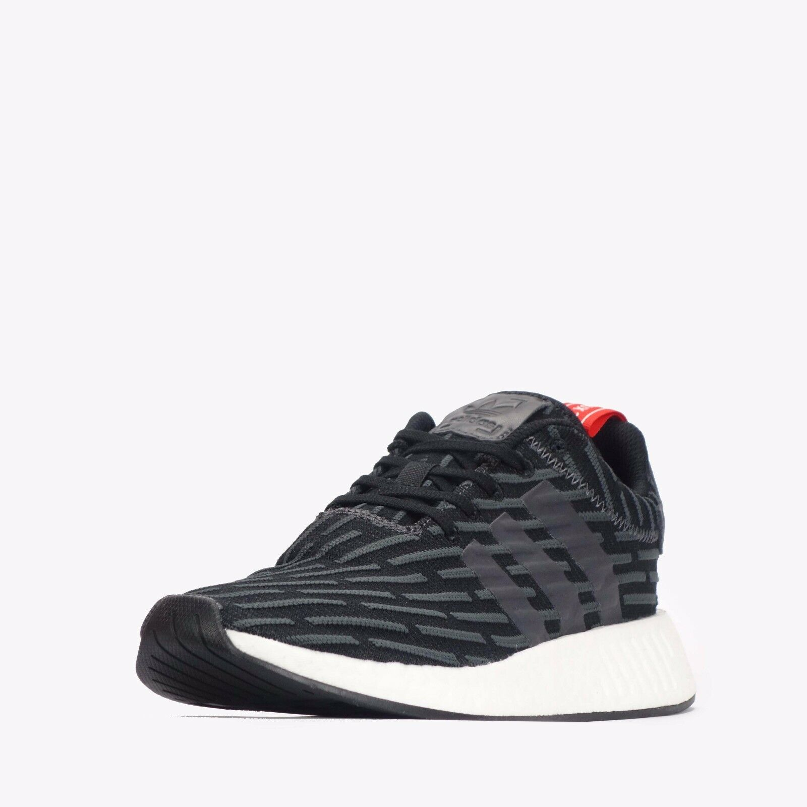 adidas NMD_R2 Men's Shoes Solid Grey-White RRP £99.99