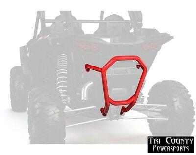 Pure Polaris Bull Bumper Rear RZR Turbo RZR1000 RZR1000 4 2014-18 Indy Red