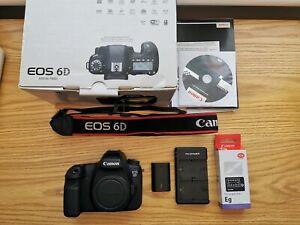 Canon-EOS-6D-20-2MP-avec-focus-ecran-boite-d-039-origine-et-2-batteries