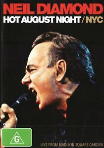 Neil-Diamond-Hot-August-Night-NYC-NEW-DVD-Region-4-Australia-Live-Concert