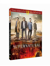 2017 NEW ~Supernatural Season 12      6DVD  Free shipping