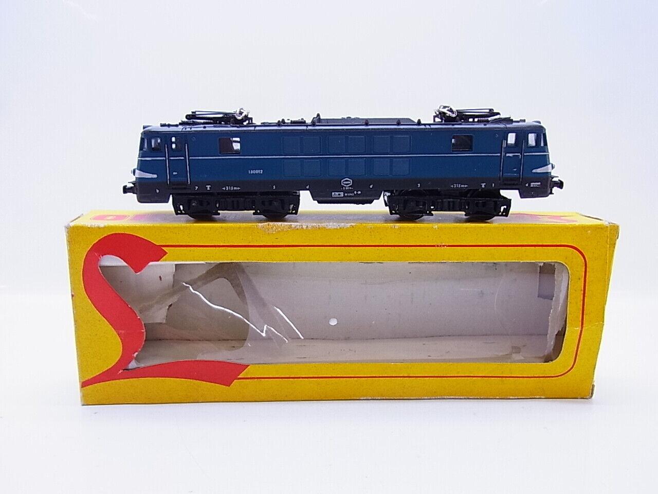 Lot 56385    Lima h0 8027 E-Lok 150012 de la SNCB dans neuf dans sa boîte  votre satisfaction est notre cible