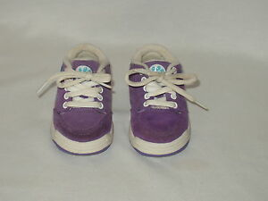 BLUES-CLUES-toddler-girl-039-s-purple-suede-SNEAKERS-Size-5-dated-2000