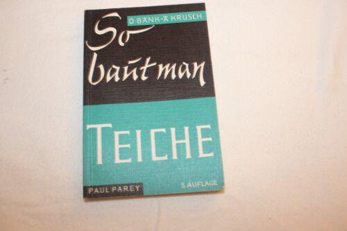 Paul Parey-così si costruisce stagni