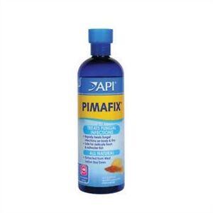 PIMAFIX treats fungal on body & fins, fresh & saltwater fish 16fl oz, API