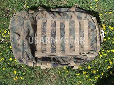 USMC MARINE ASSAULT BACK PACK Woodland MARPAT ILBE 3 Day GEN 2 Bug Out POOR cond