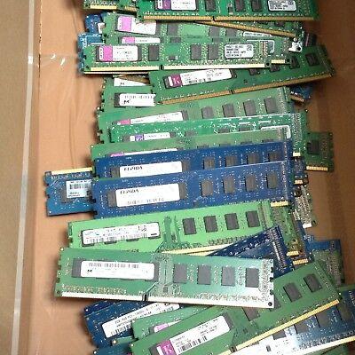 Job Lot x 25 1GB PC3-10600 DDR3-1333 DDR3 PC Desktop Memory Ram