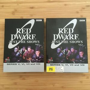 Red-Dwarf-Just-The-Shows-Volume-2-Series-5-6-7-8-6-DVD-Set-PAL-Region-4