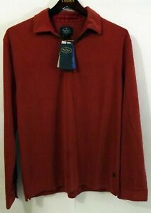 NWD Nat Nast L Rustberry Modal/Poly LS 1/4th Zip Sweater MSRP $145 See Notes