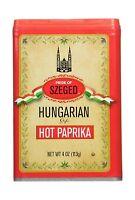 Paprika Hot (szeged) 4 Ounce Free Shipping