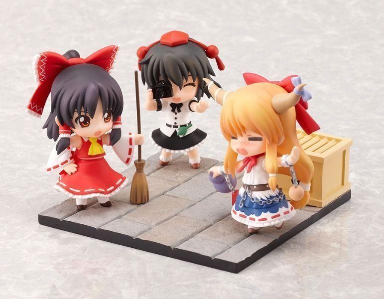 NendGoldid Petite Touhou Project Set 1 Figure Reimu Suika Aya Good Smile Company