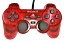 miniature 1 - Clear Red Sony Playstation 2 PS2 Controller