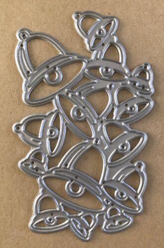 Taglio in metallo Die-Pila di Campane Natale Nozze C10