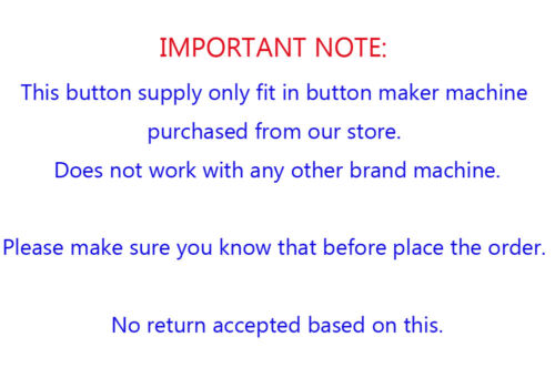 """Round 2-1//4/"""" 58mm Multi Sheets Stack Paper Graphic Punch Die Cutter Button Maker"""