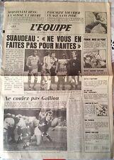 L'Equipe Journal 5/2/1985; Hess/ Nantes/ Fignon/ Pascaline Louvrier/ Hansenne M